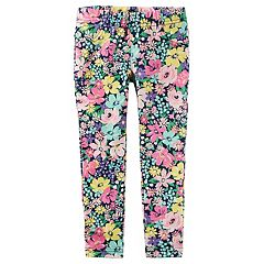 Toddler Girl Carter's Floral Printed Jeggings