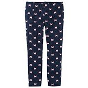 Toddler Girl Carter's Butterfly Printed Jeggings