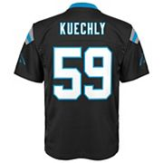 Boys 8-20 Carolina Panthers Luke Kuechly Replica Jersey