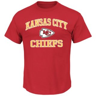 Big & Tall Majestic Kansas City Chiefs Heart and Soul II Tee