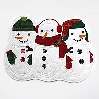 St. Nicholas Square® Snowman Placemat