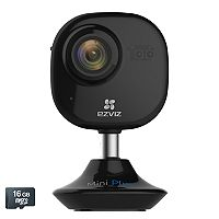EZVIZ Mini Plus 1080p Indoor WiFi Camera with 16GB MicroSD Card
