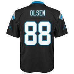 Boys 8-20 Carolina Panthers Greg Olsen Replica Jersey