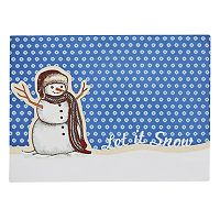 St. Nicholas Square® Let It Snow Placemat