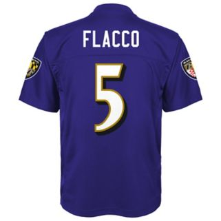 Boys 8-20 Baltimore Ravens Joe Flacco Replica Jersey