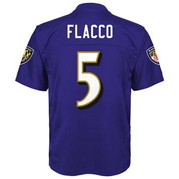 Boys 8-20 Baltimore Ravens Joe Flacco Replica Jersey