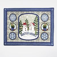 St. Nicholas Square® Winter Wishes Fair Isle Placemat