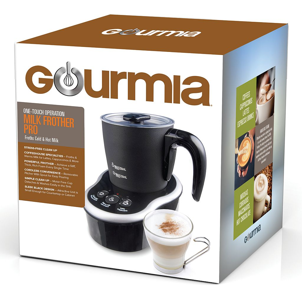 Gourmia Electric Milk Frother & Heater