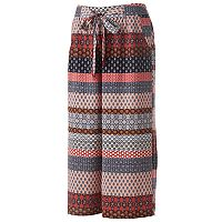 Juniors' Joe B Tie-Front Culottes