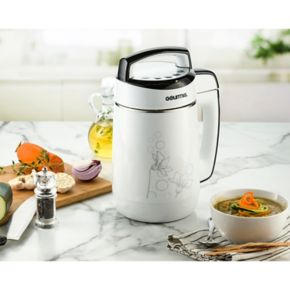 Gourmia 2-in-1 Hot Pot Electric Soup Maker with Immersion Blender