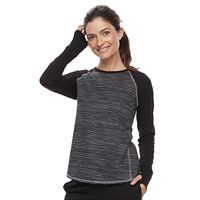 Petite Tek Gear® Long Sleeve Tee