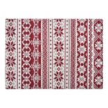 St. Nicholas Square® Fair Isle Tapestry Placemat