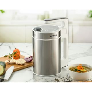 Gourmia 2-in-1 Hot Pot Electric Soup Maker with Built-In Blender