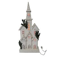 St. Nicholas Square® Light-Up Church Floor Decor