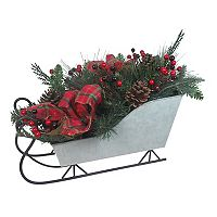 St. Nicholas Square® Light-Up Sleigh Christmas Table Decor