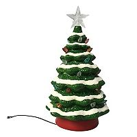 St. Nicholas Square® Light-Up Christmas Tree Table Decor