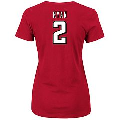 Plus Size Majestic Atlanta Falcons Matt Ryan Name and Number Tee