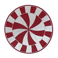 St. Nicholas Square® Beaded Peppermint Placemat