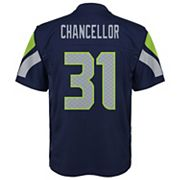 Boys 8-20 Seattle Seahawks Kam Chancellor Replica Jersey