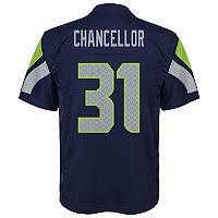 Boys 8-20 Seattle Seahawks Kam Chancellor Replica Jersey