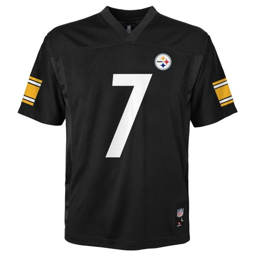 Boys 8-20 Pittsburgh Steelers Ben Roethlisberger Replica Jersey