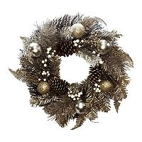 St. Nicholas Square® Rustic Ornament Artificial Christmas Wreath