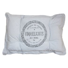 Park B. Smith Metro Farmhouse ''Coquelicots'' Nappy Pet Futon Pillow