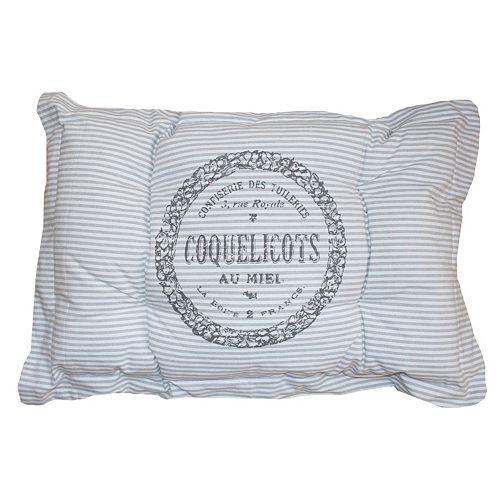 Park B. Smith Metro Farmhouse ''Coquelicots'' Nappy Pet Futon Pillow