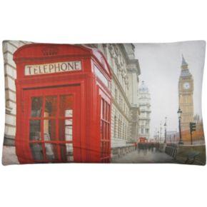 Park B. Smith Metro Farmhouse London Calling Nappy Pet Futon Pillow