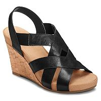 A2 by Aerosoles Swim Plush Women's Wedge Sandals