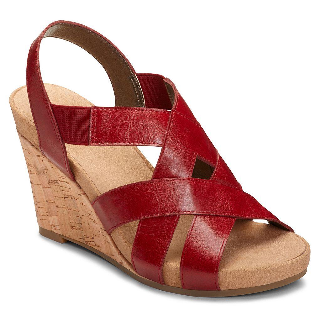 A2 by Aerosoles Swim Plush Women's Wedge Sandals