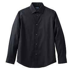 Boys 4-20 Chaps Herringbone Button-Down Shirt