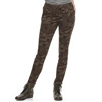 Juniors' Mudd® Ankle-Zip Utility Skinny Pants