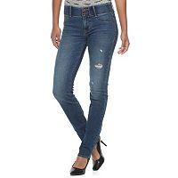 Women's Apt. 9® Tummy Control Straight-Leg Jeans