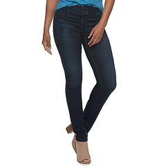 Women's Apt. 9® Tummy Control Midrise Straight-Leg Jeans