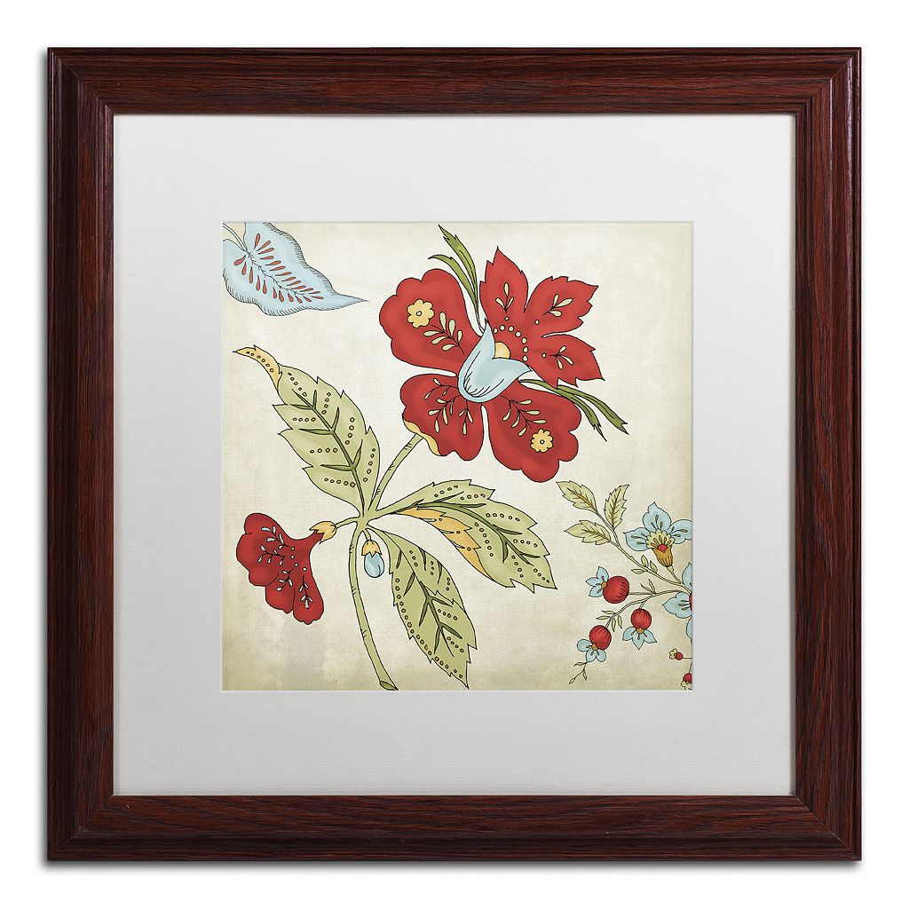 Trademark Fine Art Sasha II Framed Wall Art