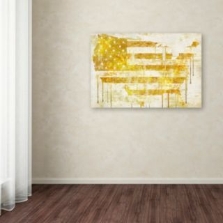 Trademark Fine Art American Dream I Canvas Wall Art
