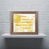 Trademark Fine Art American Dream I Ornate Framed Wall Art