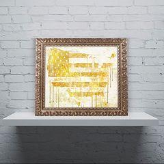 Trademark Fine Art American Dream I Ornate Framed Wall Art