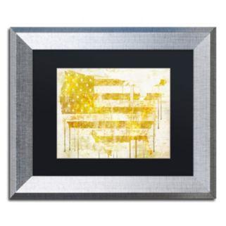 Trademark Fine Art American Dream I Framed Wall Art