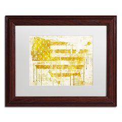 Trademark Fine Art American Dream I Traditional Framed Wall Art