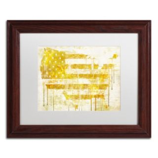 Trademark Fine Art American Dream I Traditional Framed Wall Art