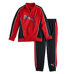 Boys 4-7 PUMA 2 pc Track Jacket & Pants Set