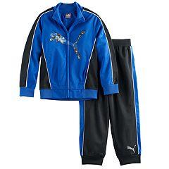 Boys 4-7 PUMA 2 pc Track Jacket & Pants Set