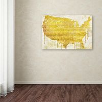 Trademark Fine Art American Dream II Canvas Wall Art