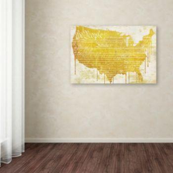 Trademark Fine Art American Dream II Canvas Wall Art