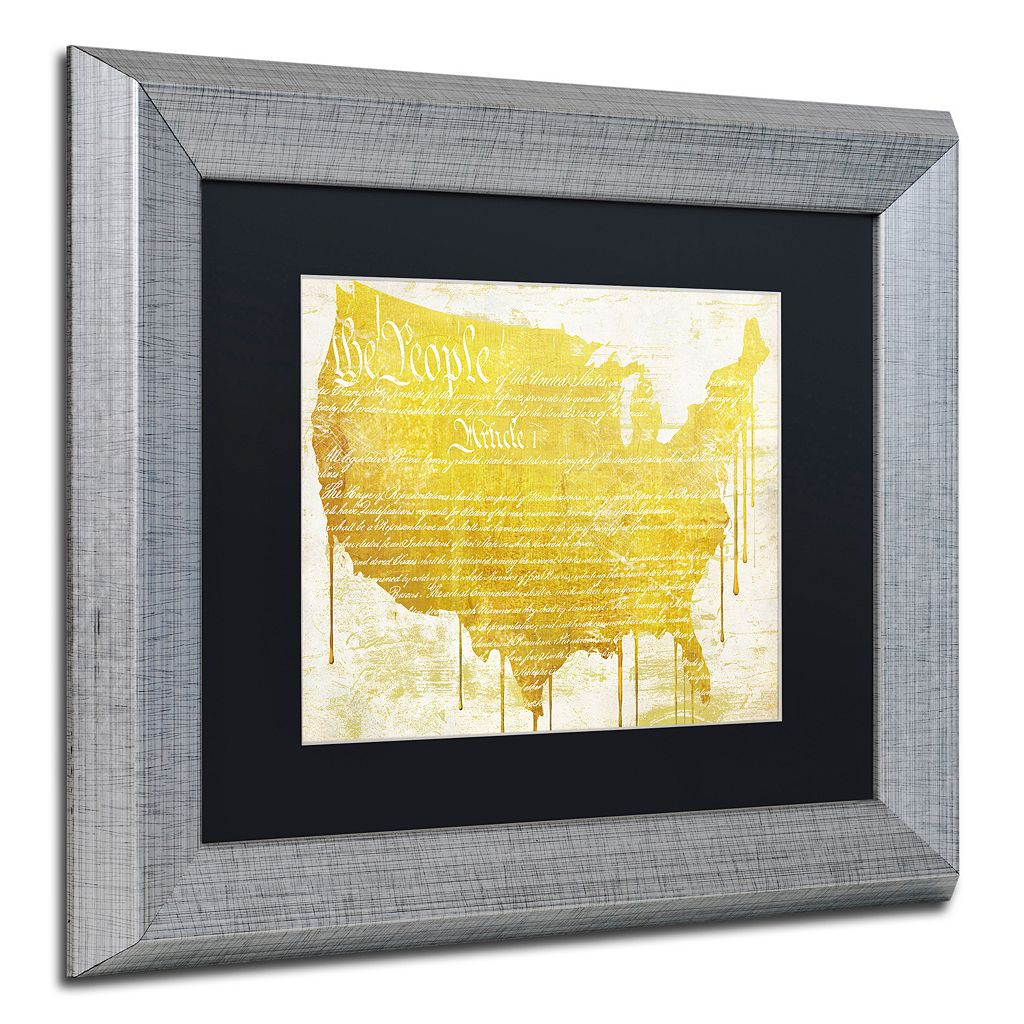 Trademark Fine Art American Dream II Framed Wall Art