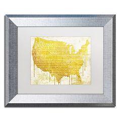 Trademark Fine Art American Dream II Framed Wall Art