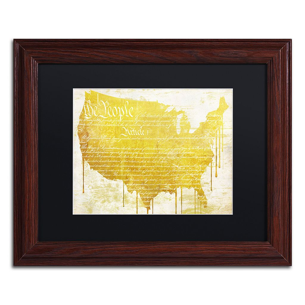 Trademark Fine Art American Dream II Traditional Framed Wall Art