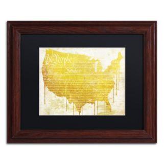Trademark Fine Art American Dream II Traditional Framed Wall Art
